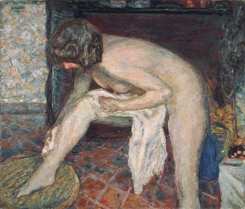 Bonnard_Toilette ou Femme Penchee 1907