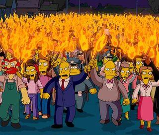 Torch mob