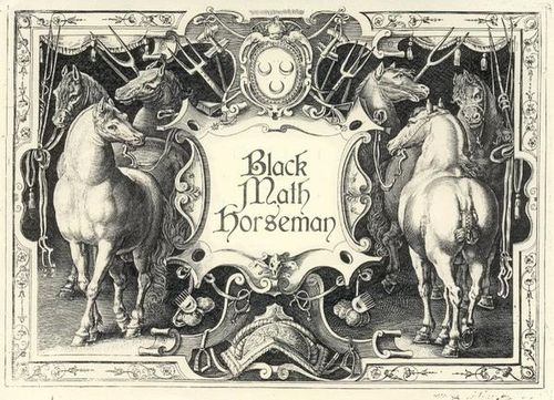 Black-math-horseman