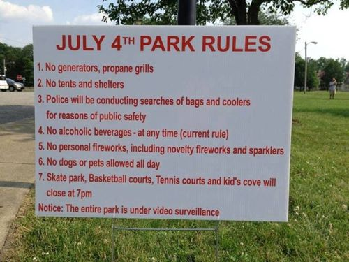4th-of-july-sign-in-public-park-sums-up-the-state-of-independence-in-america