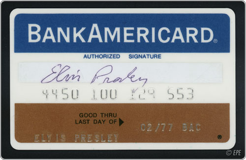 Elvis-credit-card